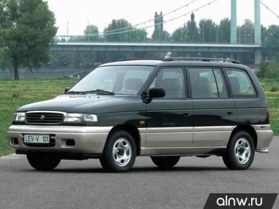 Руководство по ремонту Mazda MPV I (LV) Компактвэн