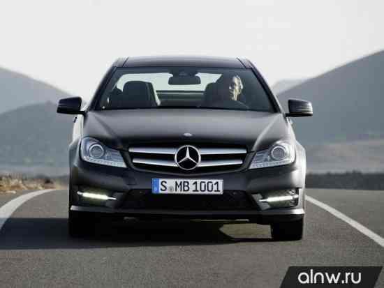 Инструкция по эксплуатации Mercedes-Benz C-klasse III (W204) Рестайлинг Купе