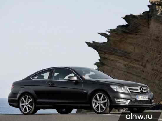 Каталог запасных частей Mercedes-Benz C-klasse III (W204) Рестайлинг Купе