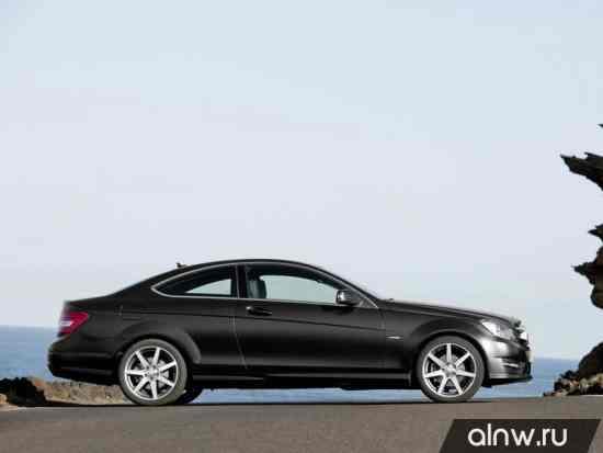 Программа диагностики Mercedes-Benz C-klasse III (W204) Рестайлинг Купе