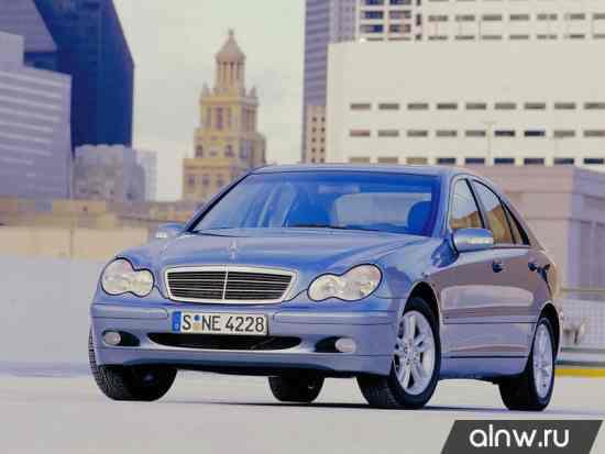 Каталог запасных частей Mercedes-Benz C-klasse II (W203) Седан