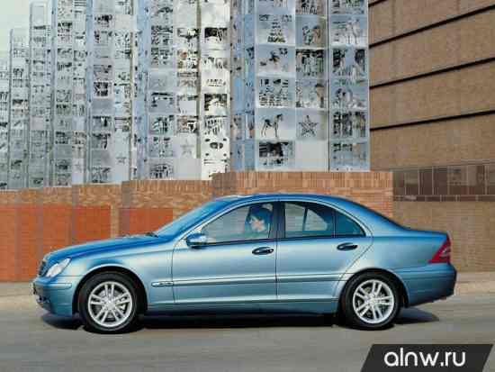 Программа диагностики Mercedes-Benz C-klasse II (W203) Седан