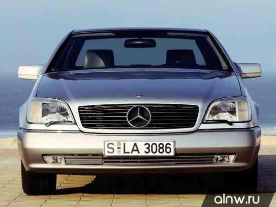Инструкция по эксплуатации Mercedes-Benz CL-klasse I (C140) Купе