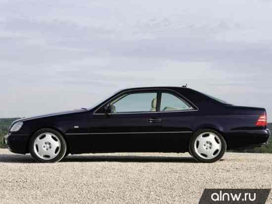 Каталог запасных частей Mercedes-Benz CL-klasse I (C140) Купе