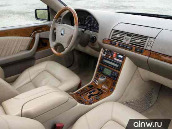 Программа диагностики Mercedes-Benz CL-klasse I (C140) Купе
