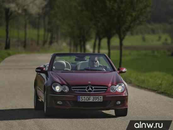 Каталог запасных частей Mercedes-Benz CLK-klasse II (W209) Кабриолет