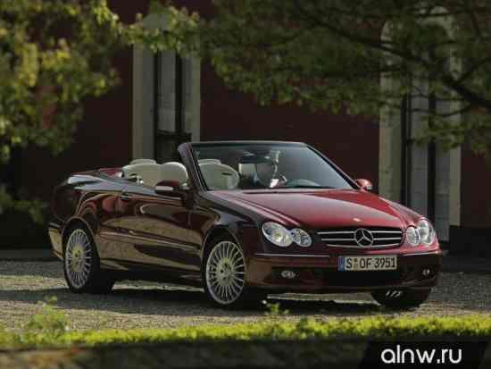 Программа диагностики Mercedes-Benz CLK-klasse II (W209) Кабриолет