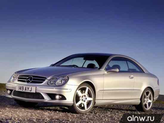 Mercedes-Benz CLK-klasse II (W209) Купе