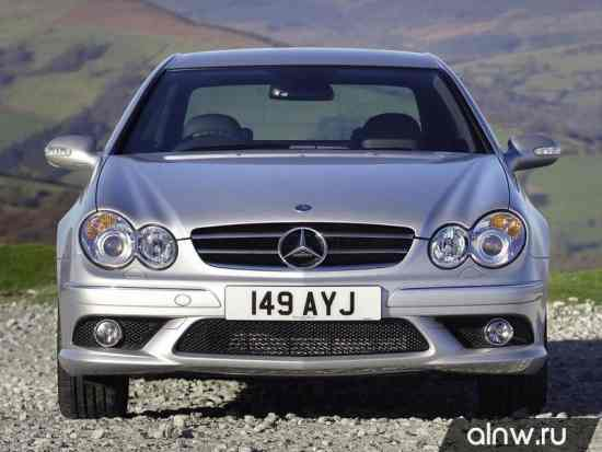 Инструкция по эксплуатации Mercedes-Benz CLK-klasse II (W209) Купе