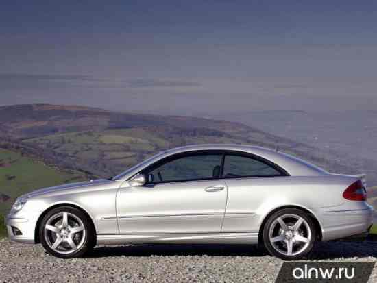 Каталог запасных частей Mercedes-Benz CLK-klasse II (W209) Купе