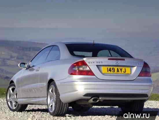 Программа диагностики Mercedes-Benz CLK-klasse II (W209) Купе