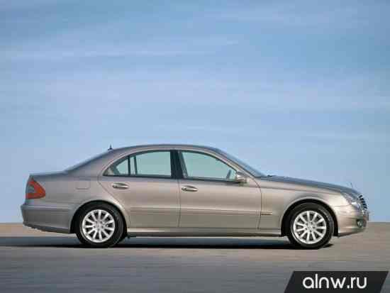 Программа диагностики Mercedes-Benz E-klasse III (W211, S211) Седан