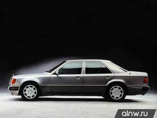 Программа диагностики Mercedes-Benz E-klasse I (W124) Седан