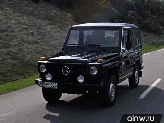 Mercedes-Benz G-klasse I (W460 W461) Внедорожник открытый