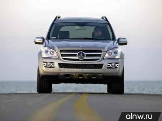 Инструкция по эксплуатации Mercedes-Benz GL-klasse I (X164) Внедорожник 5 дв.