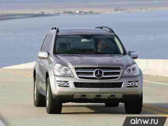 Каталог запасных частей Mercedes-Benz GL-klasse I (X164) Внедорожник 5 дв.