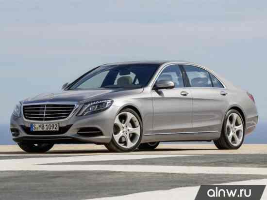 Каталог запасных частей Mercedes-Benz S-klasse VI (W222, C217) Седан
