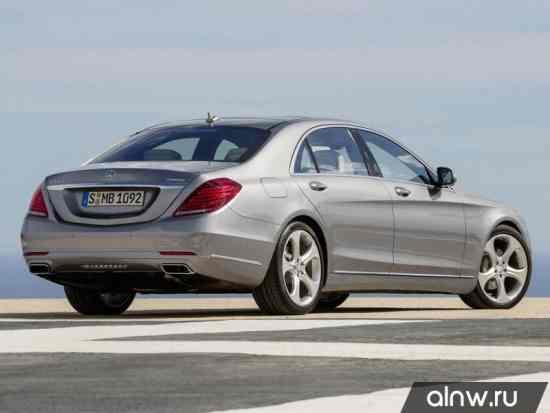 Программа диагностики Mercedes-Benz S-klasse VI (W222, C217) Седан