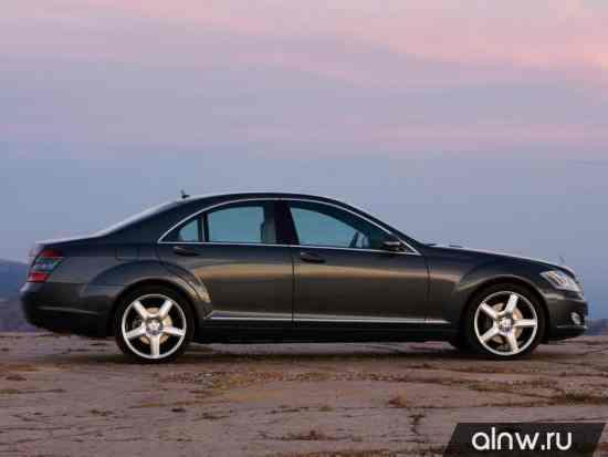 Каталог запасных частей Mercedes-Benz S-klasse V (W221) Седан