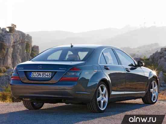 Программа диагностики Mercedes-Benz S-klasse V (W221) Седан