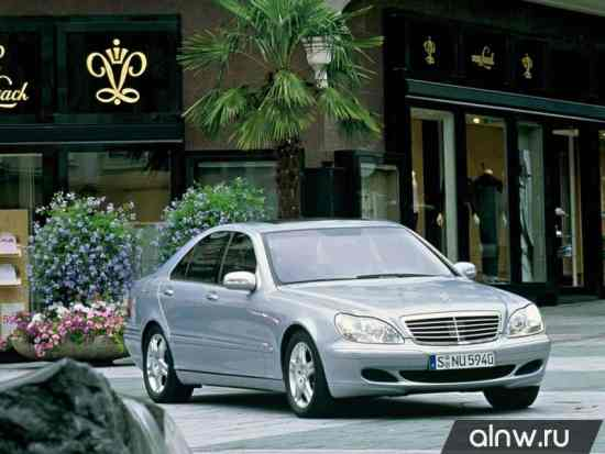 Руководство по ремонту Mercedes-Benz S-klasse IV (W220) Седан