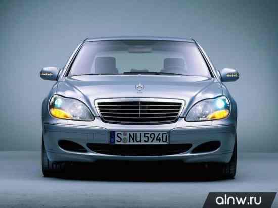 Инструкция по эксплуатации Mercedes-Benz S-klasse IV (W220) Седан