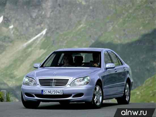 Каталог запасных частей Mercedes-Benz S-klasse IV (W220) Седан