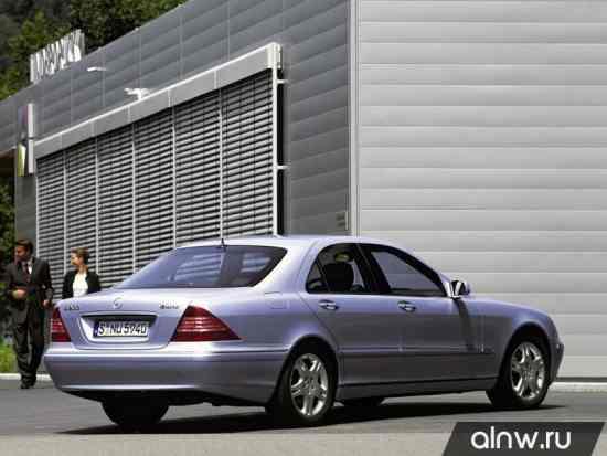 Программа диагностики Mercedes-Benz S-klasse IV (W220) Седан