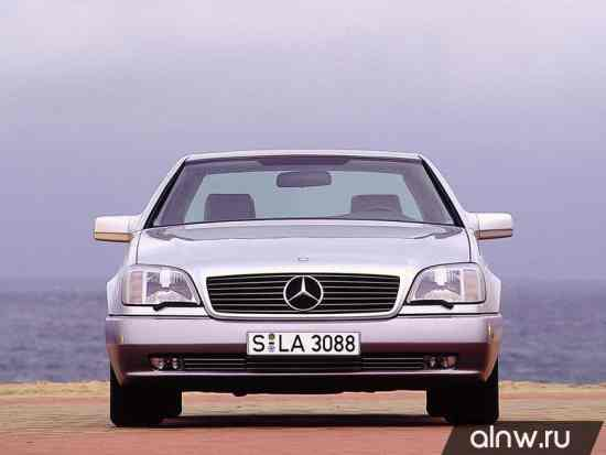 Инструкция по эксплуатации Mercedes-Benz S-klasse III (W140) Купе