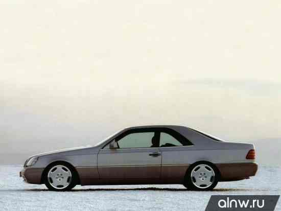 Каталог запасных частей Mercedes-Benz S-klasse III (W140) Купе