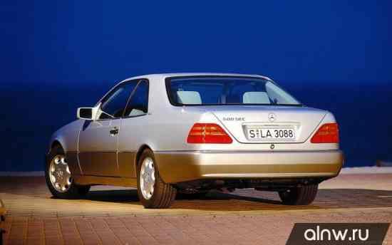 Программа диагностики Mercedes-Benz S-klasse III (W140) Купе