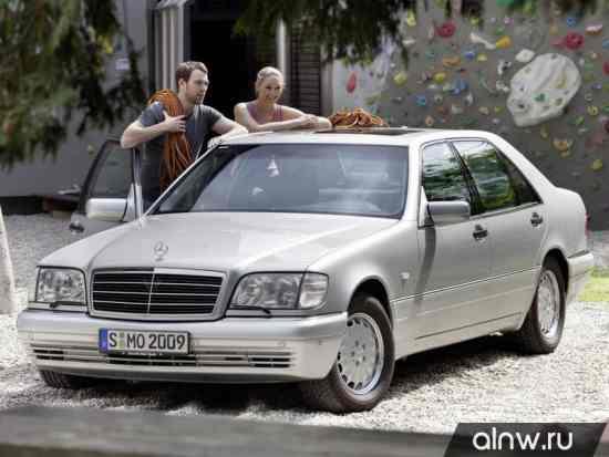 Каталог запасных частей Mercedes-Benz S-klasse III (W140) Седан
