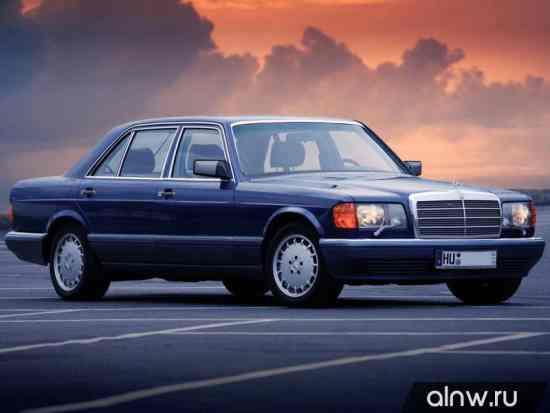 Руководство по ремонту Mercedes-Benz S-klasse II (W126) Седан