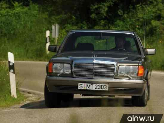 Инструкция по эксплуатации Mercedes-Benz S-klasse II (W126) Седан