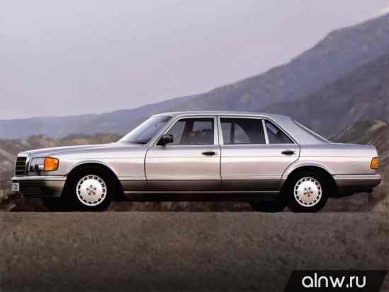 Каталог запасных частей Mercedes-Benz S-klasse II (W126) Седан