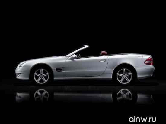 Каталог запасных частей Mercedes-Benz SL-klasse V (R230) Родстер