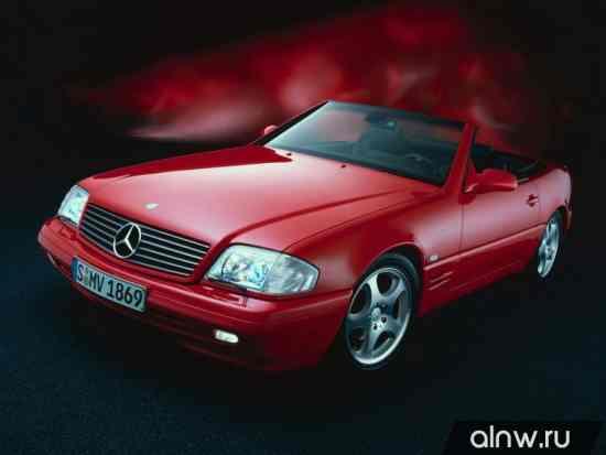 Каталог запасных частей Mercedes-Benz SL-klasse IV (R129) Родстер