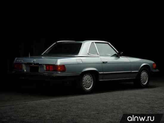 Каталог запасных частей Mercedes-Benz SL-klasse III (R107) Купе
