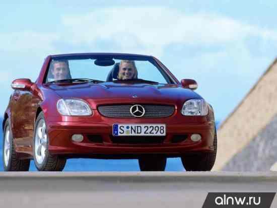 Mercedes-Benz SLK-klasse I (R170) Родстер