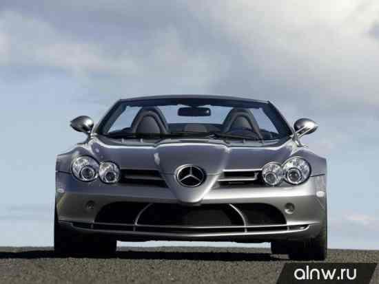 Инструкция по эксплуатации Mercedes-Benz SLR McLaren  Родстер