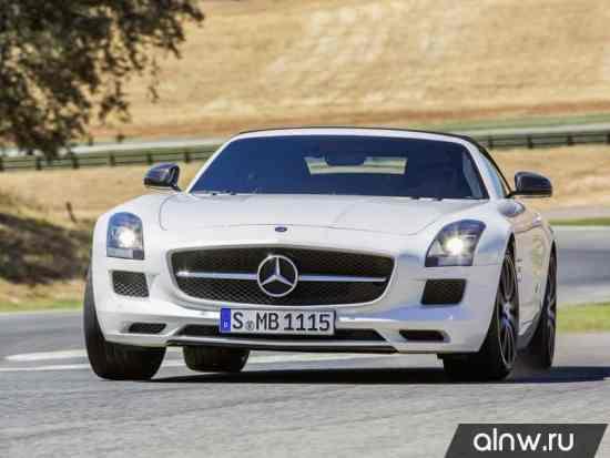Инструкция по эксплуатации Mercedes-Benz SLS AMG  Родстер