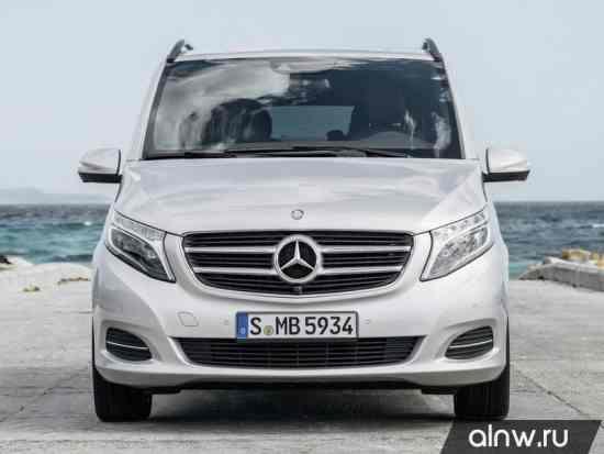 Каталог запасных частей Mercedes-Benz V-classe II Минивэн