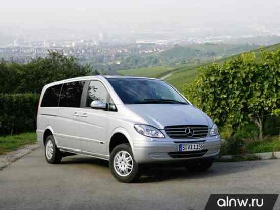 Mercedes-Benz Viano I (W639) Рестайлинг Минивэн
