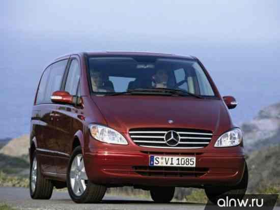 Каталог запасных частей Mercedes-Benz Viano I (W639) Минивэн