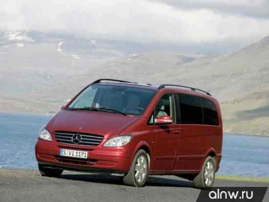 Программа диагностики Mercedes-Benz Viano I (W639) Минивэн