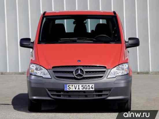 Каталог запасных частей Mercedes-Benz Vito II (W639) Рестайлинг Минивэн