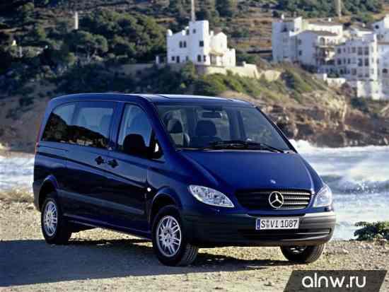 Mercedes-Benz Vito II (W639) Минивэн