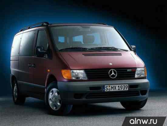 Руководство по ремонту Mercedes-Benz Vito I (W638) Минивэн