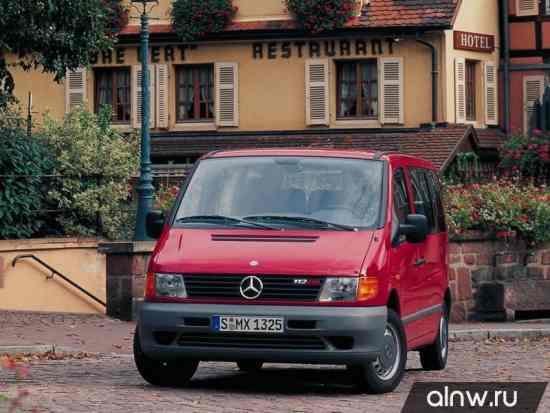 Каталог запасных частей Mercedes-Benz Vito I (W638) Минивэн