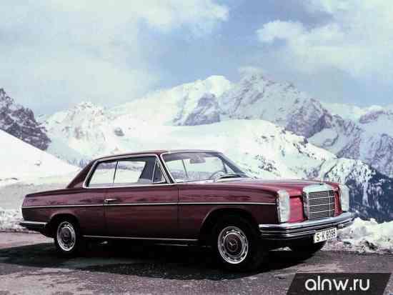 Каталог запасных частей Mercedes-Benz W114  Купе